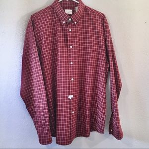 Dockers • Red Check Button Down Shirt